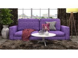 Фиолетовый <b>прямой диван</b> Чаки / Мебельная фабрика «МКмебель