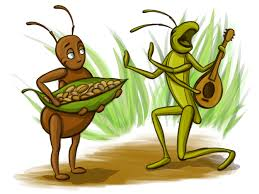 image of an ant and a grasshopper కోసం చిత్ర ఫలితం