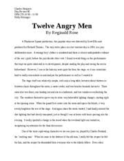 angry men essay  wwwgxartorg angry men essay questions a master s thesis word essay angry men essay reasonable doubt welcome