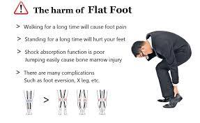 Soumit <b>Orthopedic</b> Insoles Leather Massage Shoe Pad High Arch ...