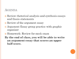 a genda review rhetorical analysis and synthesis essays and thesis    a genda review rhetorical analysis and synthesis essays and thesis statements review of the argument essay