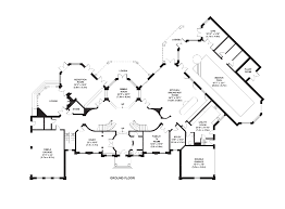Queen Anne House   A Newly Built   Square Foot Brick Mansion    Floor Plans