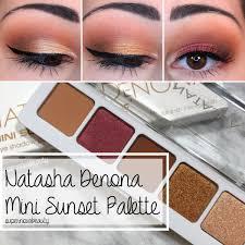 <b>Natasha Denona</b> Mini Sunset Palette   Review + <b>3</b> Looks ...