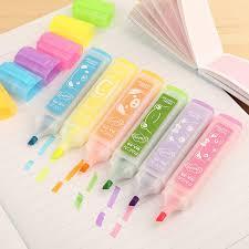<b>Korea stationery wholesale</b>, <b>large</b> capacity creative color fluorescent ...