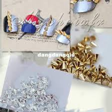 Wholesale <b>100x Punk Rock</b> 3D Nail Art Alloy Rivet Studs <b>Pyramid</b> ...