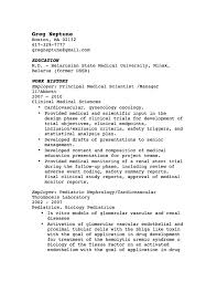 Resume Format For Online BNSC   Resume Format For Online LiveCareer