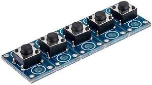 Mini Push <b>Button</b> Switch - <b>5pcs</b> Lot <b>6x6mm Button Module</b> Tact ...