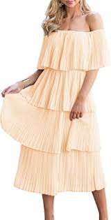 ETCYY <b>Women's</b> Off The Shoulder Ruffles <b>Summer</b> Loose Casual ...