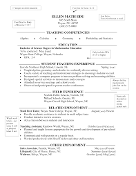 special education teacher resume sample teachers resume    others appealing bachelor of science degree in mathematics educations computer teacher resume   sample teachers resume