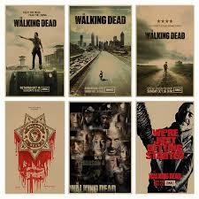 The Walking Dead movie <b>retro</b> Poster <b>Retro Kraft</b> Paper Bar Cafe ...