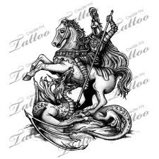 st george tattoo ideas