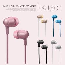 New <b>Spot</b> Kj -601 In -Ear Metal Headset With Michael Call ...