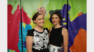 cup day 2014 how newcastle celebrated newcastle herald 300 hairdressers at noahs on the beach for melbourne cup from left bronte mcpherson