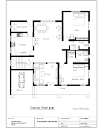 Bedroom House Plans In India   Home DesigningIndian House Plans Free Download