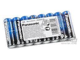 Солевые : <b>Батарейка Panasonic AA R6</b>