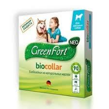 <b>GreenFort NEO БиоОшейник</b> для крупных собак от клещей, блох ...