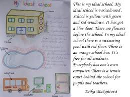 my school essay for kidsideal school mária à tevanková    this is my ideal school
