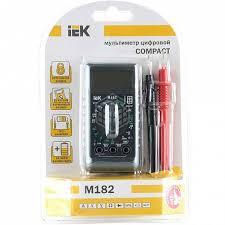 <b>Мультиметр</b> цифровой <b>IEK Compact M182</b> - купить в Краснодар ...