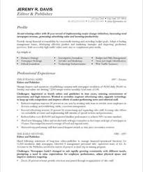 images about media  amp  communications resume samples on    managing editor   free resume samples