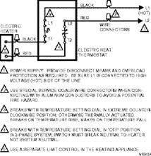 honeywell t410b1004 240 volts line voltage thermostat double pole 240v Thermostat Wiring honeywell line volt thermostat for electric heaters t410b1004 double pole thermostat wiring diagram wiring 240v thermostat