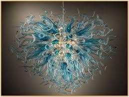 italian hand blown glass chandeliers chandelier modern italy blown glass