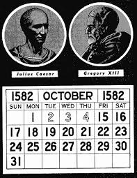 Image result for gregorian calendar vs julian calendar