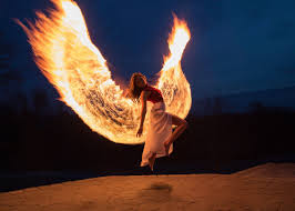 This photographer created <b>phoenix</b> wings by light <b>painting</b> with real ...