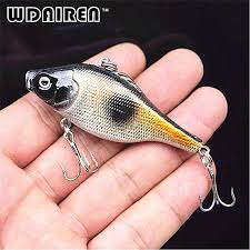 1Pcs <b>6.5cm</b> 12g Winter <b>Fishing</b> Hard <b>Bait</b> VIB with Lead Inside Ice ...