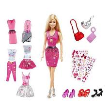 Купить <b>Набор Барби 5</b> модных <b>стилей</b> в Москве