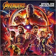 Avengers Infinity War Mini Official 2019 Calendar ... - Amazon.com