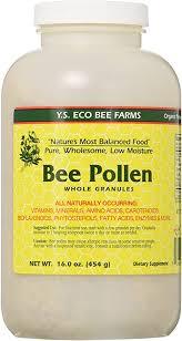 <b>Bee Pollen</b> - Low Moisture Whole Granulars YS Eco Bee Farms <b>16</b> ...