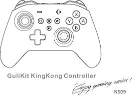 GuliKit NS09 King Kong Controller NS09 <b>GuliKit KingKong</b> PRO ...