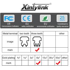 <b>xintylink</b> EZ <b>rj45</b> connector rj 45 plug cat5 cat5e network 8P8C ...