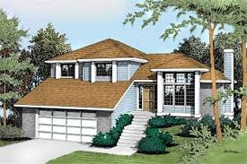 Split Level House Plans  The Revival of a Mid  th Century ClassicClassic split level house plan
