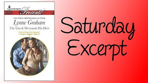 Saturday Excerpt: The <b>Greek</b> Demands His Heir by <b>Lynne Graham</b> ...