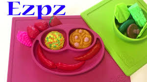 <b>Ezpz</b> Happy Mat. ИзиПизи веселая тарелка-плейсмат. Обзор ...