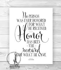 honor military quote honor quote typography wall art print home decor typography quote calvin coolidge typography art print art force office decoration