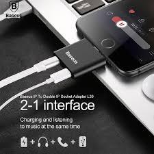<b>Baseus</b> Charging Call Music 8Pin For <b>Lightning Male</b> To Female 2 ...