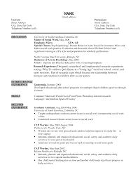 school social worker resumes template social worker resume template