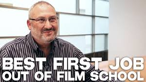 best first job out of film school by ross brown