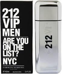 <b>Carolina Herrera 212 VIP</b> EdT 100ml in duty-free at airport ...
