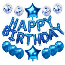 <b>13pcs</b> 16inch Letters <b>Happy Birthday Balloons</b> + 2pcs Star Foil ...