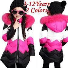2018 Girls' Coat Big Boy Little Girl <b>Winter Plus Cotton</b> Thicker Cotton ...