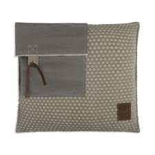 Jack Cushion 50x50 <b>Seda</b>/Olive | Knit Factory