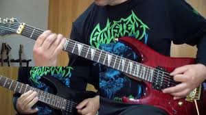 <b>Skeletal Remains</b> - <b>Devouring</b> Mortality (guitar cover) - YouTube