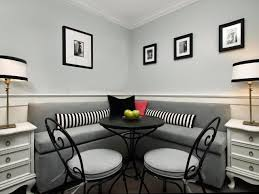 size dining room contemporary counter: full size of kitchen contemporary dining ideas with grey leather cushioning striped bolsters red black throw