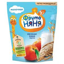 <b>Молочная Овсяная каша</b> с персиком <b>молочная ФрутоНяня</b> ...