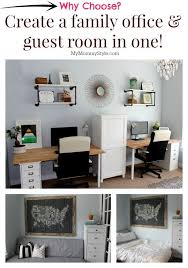 a family office and guest room in one home office that functions as a guest bedroom as well inspiration for the jam room office guest room not sure bedroom office desk