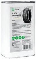 «<b>Grass Полироль для шин</b>, чернитель резины Black Brilliance 1 л ...
