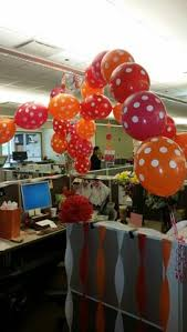 cubicle decor birthday office decorations